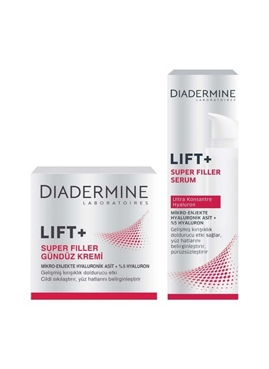 Diadermine Dıadermıne Lıft+Superfıller Gündüz Kremi + Serum 40 Ml Renksiz